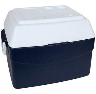 Caixa Térmica 55 Litros Glacial Azul - Mor