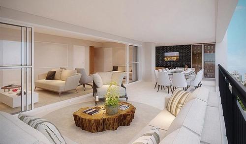 Apartamento De 213 M Com 3 Ou 4 Suites No Brooklin