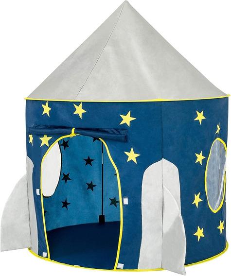 Carpa Tienda Campaña Nave Espacial Brilla En La Oscuridad