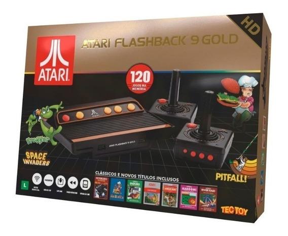 Atari Flashback 9 Gold Novo Lacrado Original Envio Imediato