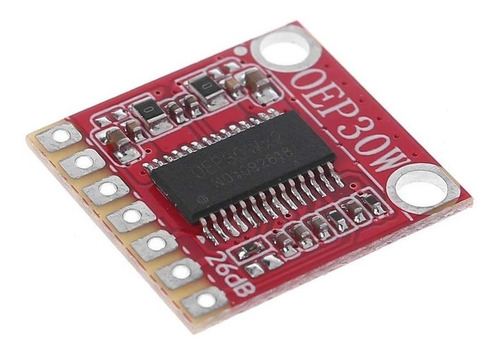 Oep30w Módulo Mini Amplificador Monofonico Digital