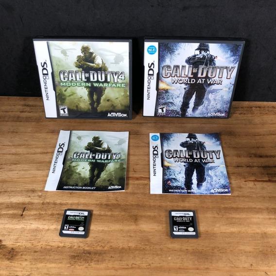 2 Jogos Call Of Duty Originais P/ Nintendo Ds!! Nds!!