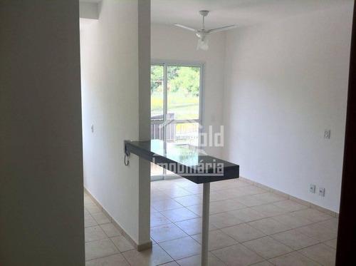Apartamento Com 2 Dormitórios, 55 M² - Venda Por R$ 285.000 Ou Aluguel Por R$ 1.100/mês - Vila Monte Alegre - Ribeirão Preto/sp - Ap3858