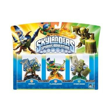 Box Skylanders Spyro`s Adventure Com 3 Personagens 3ds Ps3