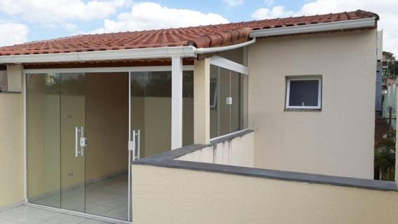Apto Cobertura Sem Condomínio Com 168 M² Sendo 3 Dormitórios 1 Sendo Suite, 2 Vagas À Venda Por R$ 478.000,00 - Santa Maria - Santo André/sp - Co0819