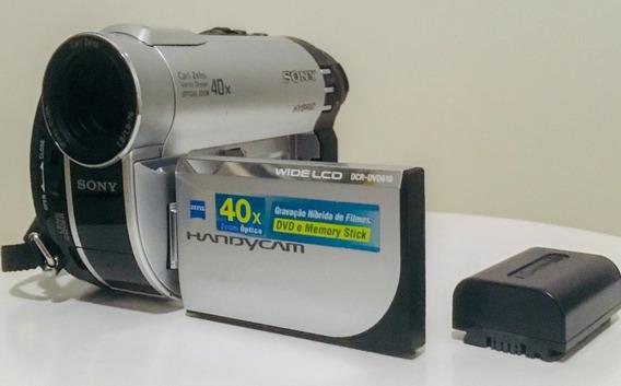 Sony Handycam Dcr - Dvd610 Hybrid - Mini Dvd