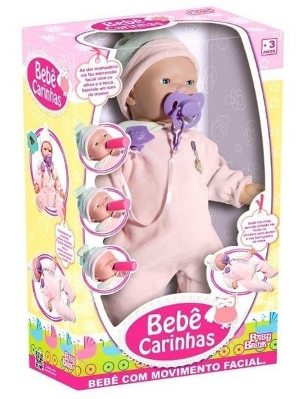 Boneca Bebê Carinhas C/ Expressão Real - Mama Chora E Dorme