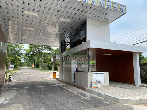 Condominio Itaporanga Ii - Terreno À Venda, 800m² Por R$ 450.000 - Ponta Negra - Manaus/a - 20x40m Murado E Plano - Te0677