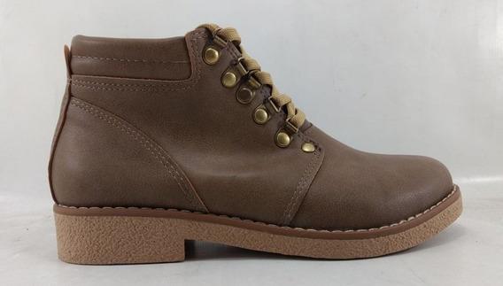 Zapatos Abotinado Botita Chavito Cordones Xoa Ky West