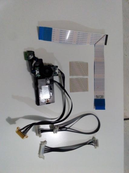 Kit Cabo Flat Wifi Sensor Conector Tv Samsung Un40h5550ag