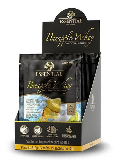 Pineapple Whey (15 Sachês-30g) Essential Nutrition