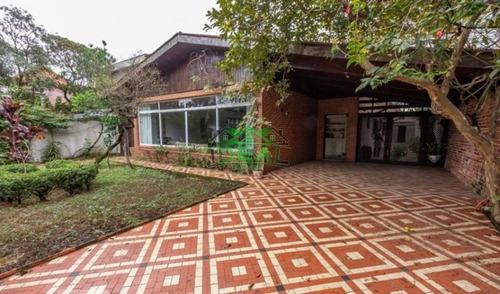 Casa Térrea Para Venda No Bairro Lapa, 3 Dorm, 1 Suíte, 5 Vagas, 276 M, 592 M - 1393