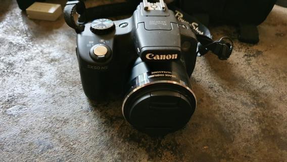 Câmera Nikon Powershot Sx50 + Bolsa + 32gb + Tripé