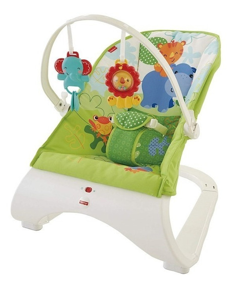 Fisher Price Silla Mecedora Rainforest Ckr34 E. Full