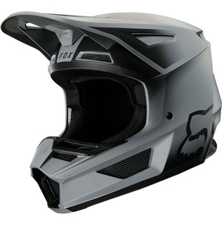 Casco Fox V2 Vlar Negro/m Motocross All Road Enduro Atv Rzr