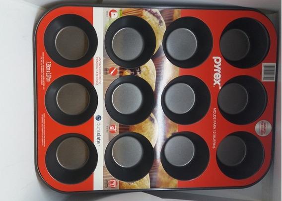 Molde Para Muffins X 12 Pyrex