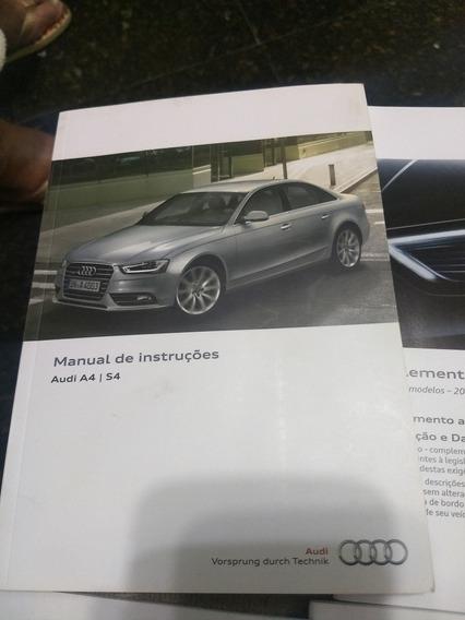 Manual Proprietario Audi A4 S4 2013