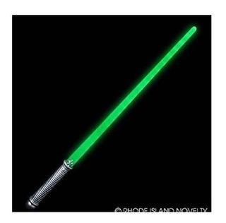 28 Espada Súper Verde Iluminada