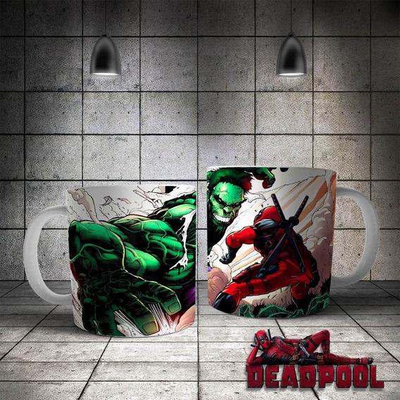 Artes Estampas Canecas Personalizadas Super Heroi Deadpool