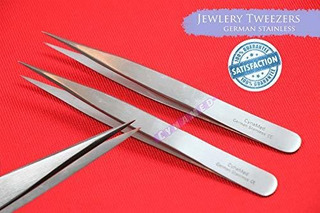 Cynamed German Stainless Jewelry Forceps