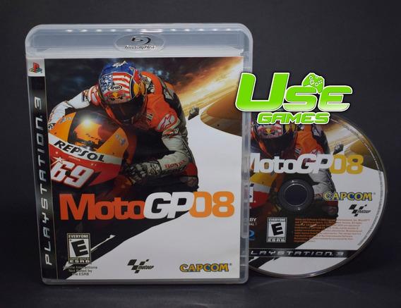 Ps3 - Moto Gp 08 Motogp 2008 - Mídia Física