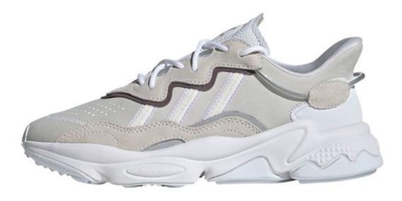 Tênis adidas Feminino Ozweego White/silver Metallic Original
