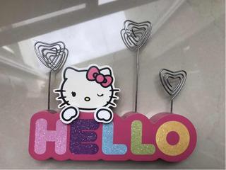Porta Fotos Porta Retrato Madera Sanrio Hello Kitty