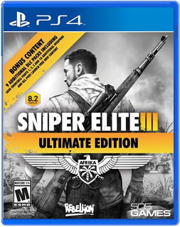Sniper Elite 3 Ultimate Edition / Juego Físico / Ps4