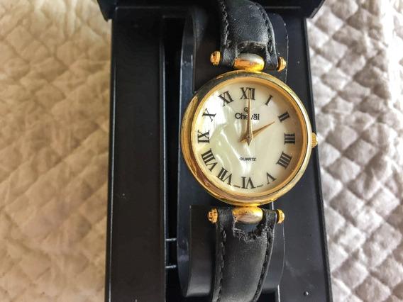 Relógio Feminino Cheval Quartz 28 Mm Madreperolado Romanos