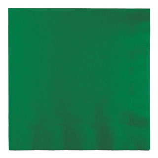 523261 Servilletas De Almuerzo, 6.5 X 6.5 , Verde Esme...