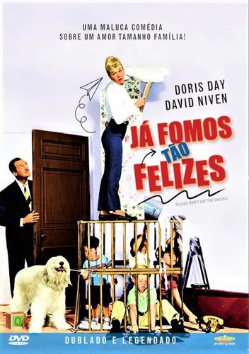 Dvd Já Fomos Tão Felizes, Doris Day E David Niven  1960 +