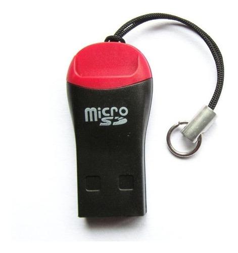 Adaptador Lector Memoria Microsd A Usb Memorias Sdhc Pc