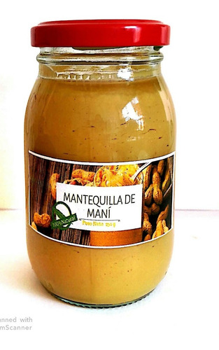 Imagen 1 de 3 de Mantequilla De Mani 100% Natural 2 Unida - kg a $48