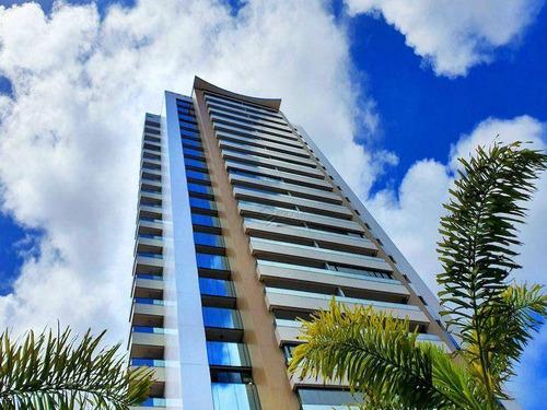 Imagem 1 de 30 de Apartamento Com 3 Quartos À Venda, 162 M², Área De Lazer, 3 Vagas, Financia - Aldeota - Fortaleza/ce - Ap1115