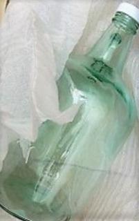Garrafa De Vidrio 4 Litros Transparente Con Tapa, Jarron