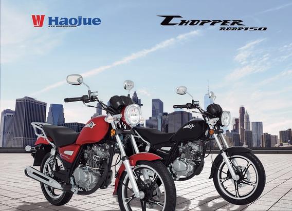 Haojue Chopper 150 Okm 2019 A Pronta Entrega