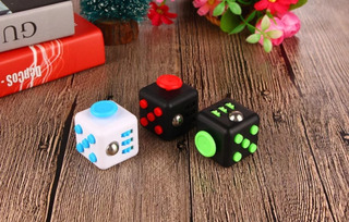 Fidget Cube - Cubo Anti -stress6 Métodos De Relajación En 1