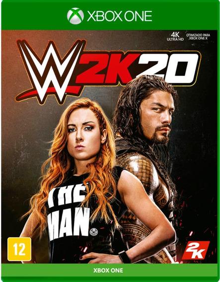 Wwe 20 2k20 W2k20 Xbox One Midia Fisica Dvd Lacrado Promoção