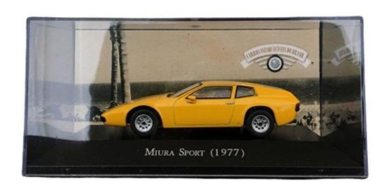 Miniatura Miura Sport 1977 Carros Inesquecíveis 1/43 Altaya