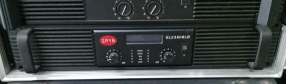 Amplificador Power Spyn Modelo Slx 3600 Ld Leer Antes