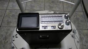 Micro Tv/rádio Am/fm Broksonic Cirt-2097t 1985 Não Funciona