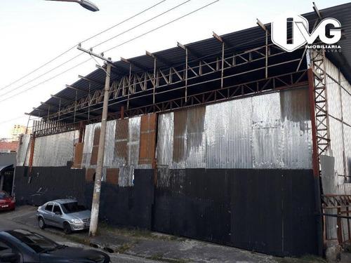 Imagem 1 de 9 de Galpão Para Alugar, 1200 M² Por R$ 13.000,00/mês - Vila Galvão - Guarulhos/sp - Ga0325