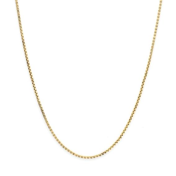 Corrente Veneziana Folheada A Ouro 55cm 1378
