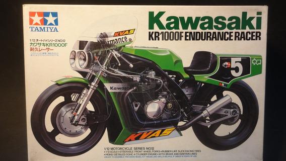 Llm - Moto - Kawasaki Kr1000 F Endurance Tamiya 14012 - 1/12