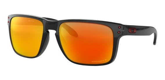 Oakley Oo9417 0859 Holbrook Xl Prizm Ruby Polarized Black
