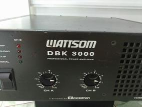 Wattsom Ciclotron Dbk 3000