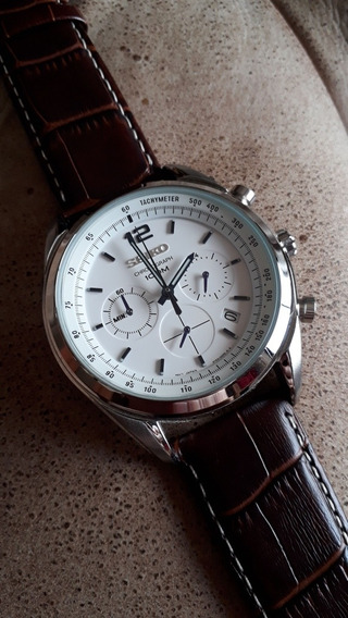 Relógio Seiko - Cronógrafo Meca-quartz - 44mm - Impecável