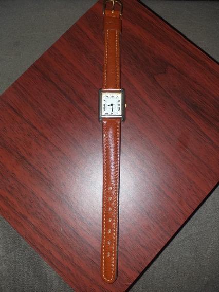 Relógio Quartz T Cartier Funcionando Perfeitamente S Bateria
