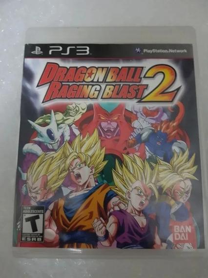 Jogo Dragon Ball Raging Blast 2 Ps3 Midia Física Frete Gt