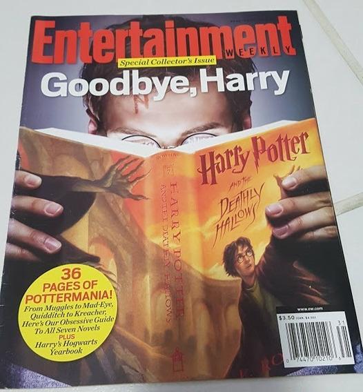 Revista Entertainment Weekly - Último Livro Harry Potter